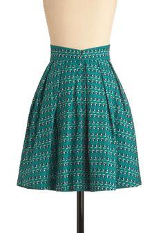 Emily and Fin Sail We Dance Skirt | Mod Retro Vintage Skirts | ModCloth.com
