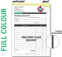 Invoice Books Custom Awesome Car Mechanic Service  Quote Pad  Book  Design 2  Ncr Invoice .