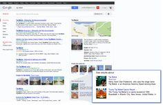 Introducing the Knowledge Graph: things, not strings | Official Google Blog | Information populated to right of search topic
