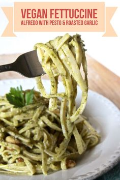 Looking for a way to make fettuccine Alfredo without the dairy? This vegan Alfredo pasta recipe is still really creamy and full of the Italian flavor you're craving.