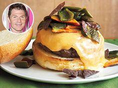 Bobby Flay National Cheeseburger Day Santa Fe Burger