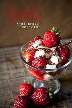 Nutella Strawberry Shortcake