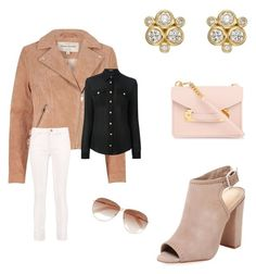 """""""Untitled #679"""" by gerdux16 on Polyvore featuring Temple St. Clair, River Island, Schutz, Sophie Hulme, Tom Ford, Balmain and Alexander McQueen"""