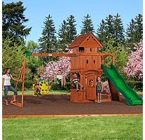 Monterey Cedar Swing Set from Sam's Club - I would LOVE to have this for my kids :)