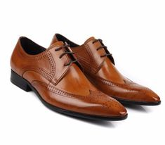 Handmade Oxford Leather wedding Shoes, Lace up Fashion business Male Dress Shoes Mens Fashion App, Cheap Mens Fashion, Fashion Shoes, Fashion Clothes, Brown Leather Shoes, Black Shoes, Oxford Shoes Outfit, Dress Shoes, Gents Shoes