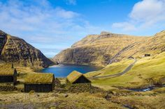 Faroe Islands - A spot int the Atlantic Ocean where you can experience all four seasons in one day.