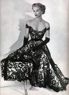 Vintage dress Dior breathtaking