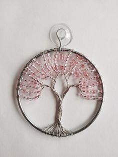 Spring Tree of Life Sun Catcher Beaded Ornament by MyTwistedArt