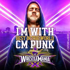 I'm with CM Punk!! Baby come back you can blam it all on HUNTER