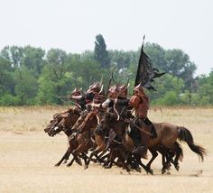 Magyar Hun Szkita warriors