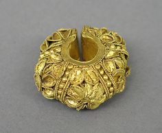 Ear Ornament  Period: Central Javanese period Date: Second half of the 8th–second half of the 10th century Culture: Indonesia (Java) Medium: Gold