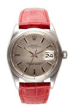Rolex Stainless Steel Date With Original Box And Papers by CMT Fine Watch and Jewelry Advisors for Preorder on Moda Operandi
