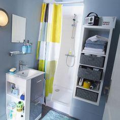 3 m² pour installer une douche, un meuble vasque et des rangements ? Pas toujours simple d'aménager une mini salle de bains ! Cette sélection de meubles gain de place va vous permettre d'optimiser l'espace de votre pièce d'eau.