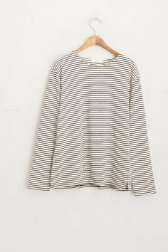 Olive - Skinny Striped Tee, Ivory, £35.00 (http://www.oliveclothing.com/p-oliveunique-20151105-030-ivory-skinny-striped-tee-ivory)