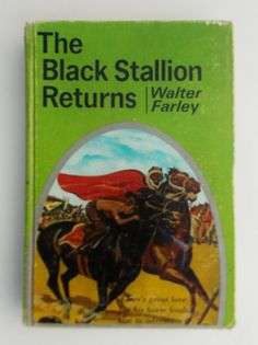 The Black Stallion Returns by Walter Farley by BettyandEdnas, $9.00