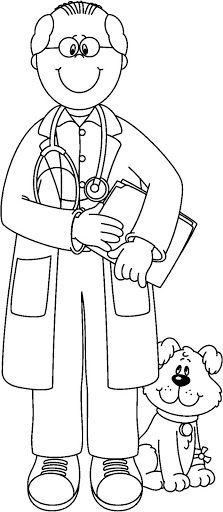 Figuras de los oficios y profesiones - Sonia.3 U. - Álbumes web de Picasa Preschool Rules, Free Kindergarten Worksheets, Preschool Crafts, Community Helpers Worksheets, Community Helpers Preschool, Colouring Pages, Coloring Books, Drawing For Kids, Art For Kids