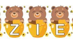 Różne napisy na Dzień Pluszowego Misia do szkoły, przedszkola i żłobka. Do druku za darmo! Teddy Bear Day, Family Guy, Education, Boys, Fictional Characters, Aga, Baby Boys, Onderwijs, Senior Boys