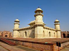 "Itimad-ud-Daulah (""Baby Taj""), in Agra Agra, Taj Mahal, Tumblr, India, Building, Baby, Travel, Goa India, Viajes"
