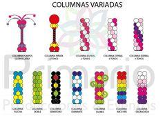 Colunas balão