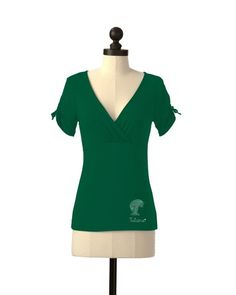 Tulane Green Wave | Team Tie Sleeve Tee | meesh & mia