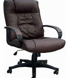 Brown Cow Split Leather High Back Office Chair PC Computer Desk Swivel  Furniture In Home, Furniture U0026 DIY, Furniture, Chairs
