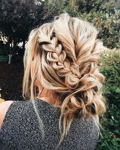Gorgeous messy braid bun ……… added to our site quickly. hello sunset today we share Gorgeous messy braid bun ……… photos of you among the popular hair designs. You can look at all images and designs related to new model hair designs from our website. Messy Bun With Braid, Messy Braids, Braids For Long Hair, Braid Hair, Bun Braid, Braided Buns, Black Braids, Hair Down With Braid, Cute Messy Buns