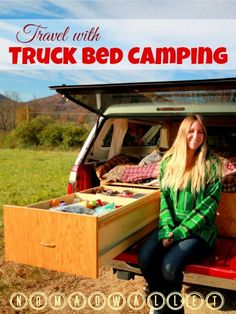 Road Trip With a Twist: Travel With Truck Bed Camping | http://www.nomadwallet.com/truck-bed-camping-rachel/