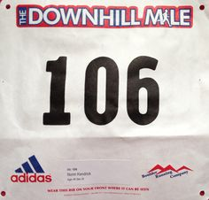 Superior Downhill Mile (Superior, CO). Running Company, Race Bibs, Bouldering, Racing, Running, Auto Racing
