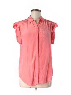 Check it out - Madewell Short Sleeve Silk Top for $36.49 on thredUP!