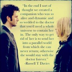 Russell T Davies quote: Doctor Who: You want weapons? Description from quotesgram.com. I searched for this on bing.com/images