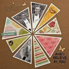 Image result for scrapbook layout circles and rectangles template lots of photos