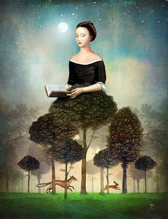 """""""Fable"""" Digital Art by Christian Schloe posters, art prints, canvas prints, greeting cards or gallery prints. Find more Digital Art art prints and posters in the ARTFLAKES shop. Art And Illustration, Art Magique, Art Sculpture, Max Ernst, Surrealism Painting, Magritte, Arte Pop, Wassily Kandinsky, Surreal Art"""