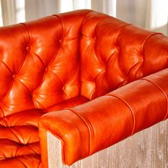 Bar Stool no. Forty, inspired by the Soho House in London, Chesterfield bar stool, tufted leather, arm chair.