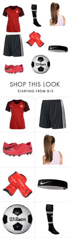 """""""Sports: Soccer"""" by sunheart15 ❤ liked on Polyvore featuring NIKE, adidas and Diadora"""