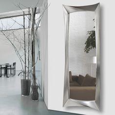 espejo vestidor en plata, espejo vestidor, espejos para dormitorios