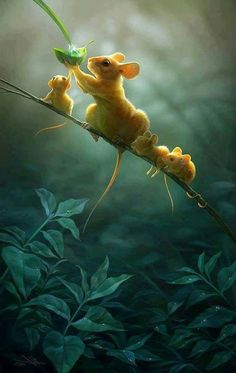Digital painting: Create a Heart-Warming Wildlife Illustration in Photoshop Animals And Pets, Baby Animals, Funny Animals, Wild Animals, Adorable Animals, Cute Animals Images, Beautiful Creatures, Animals Beautiful, Tier Fotos