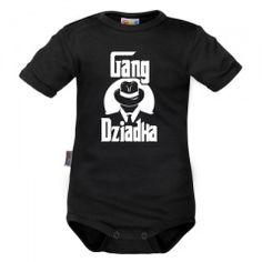 Gang Dziadka (E24) imie dziecka, dejna sosnowiec :)  Nadruki na tekstyliach od jednej sztuki :) Dzień Babci dzień Dziadka Onesies, Kids, Clothes, Fashion, Young Children, Outfits, Moda, Boys, Clothing