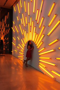 Gold neon light installation behind the bar (budget dependent) - words such as 'All that glitters is gold' Mawa Design, Event Design, Booth Design, Light Art Installation, Interactive Installation, Interactive Art, Art Installations, Screen Design, Light Design