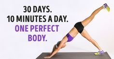 Seven simple exercises that will transform your body in just four weeks