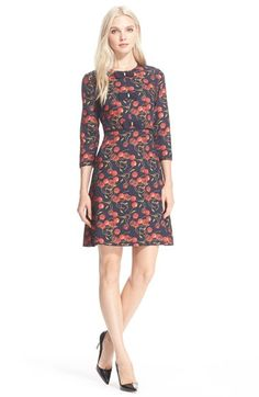 Ted Baker London Cherry Print Bow Detail Dress available at #Nordstrom
