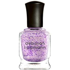 Women's Deborah Lippmann Do the Mermaid Glitter Nailpolish Do The... ($20) ❤ liked on Polyvore featuring beauty products, nail care, nail polish, nails, makeup, beauty, do the mermaid, deborah lippmann, deborah lippmann nail color and deborah lippmann nail polish