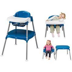 Evenflo Mini-Meal 3-in-1 High Chair, Dottie Royal