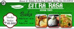 Citra Rasa Vegan Food Terbaik Di Medan