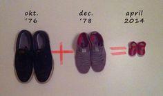 Süße Idee zur Bekanntgabe das man schwanger ist. Noch mehr Ideen gibt es auf www.Spaaz.de