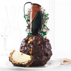 Dark Chocolate Cashew Golf Bag Jumbo Caramel Apple Gift