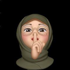 Cute Cartoon Wallpapers, Cartoon Pics, Girl Cartoon, Anime Face Drawing, Hijab Drawing, Emoji Photo, Emoji Wallpaper Iphone, Ariana Grande Drawings, Girl Emoji