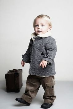 Love the coat!!! stylish baby boy