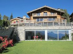 chalet Crans-Montana Valais