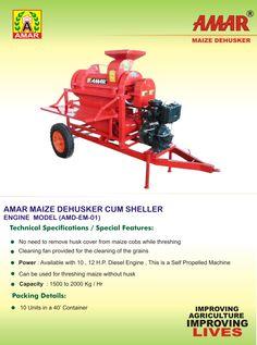 Amar Maize Dehusker Cum Sheller - Fuel Engine Model Agricultural Implements, Ulzzang Girl, Engine, Model, Agricultural Tools, Motor Engine, Scale Model, Models