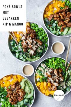 Healthy Recepies, Good Healthy Recipes, Healthy Cooking, Healthy Light Dinners, Plats Healthy, Food Bowl, Happy Foods, Asian Recipes, Food Inspiration
